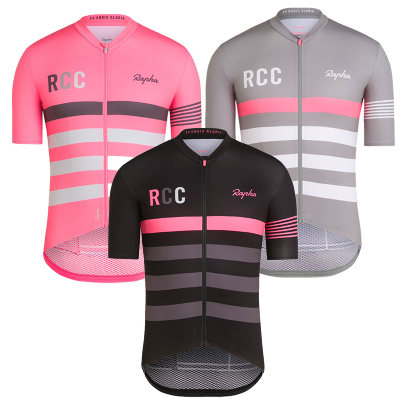 CHAIMP RCC Short Sleeve Cycling Jerseys Pro Team Aero Breathable Shirt MTB Road Bike