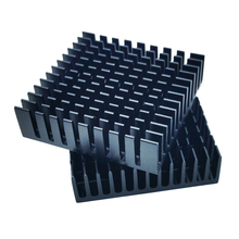 Купить с кэшбэком 10pcs/lot 40 x 40 x 10mm 40mm Heat sink Aluminum Heatsink Cooler For Led Light