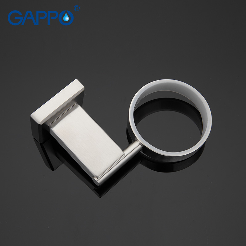 GAPPO 1 set Wall-mount Stainless Steel Soap Dish Holder restroom Soap Basket Soap Box Dish Holder Bathroom accessories GA1702