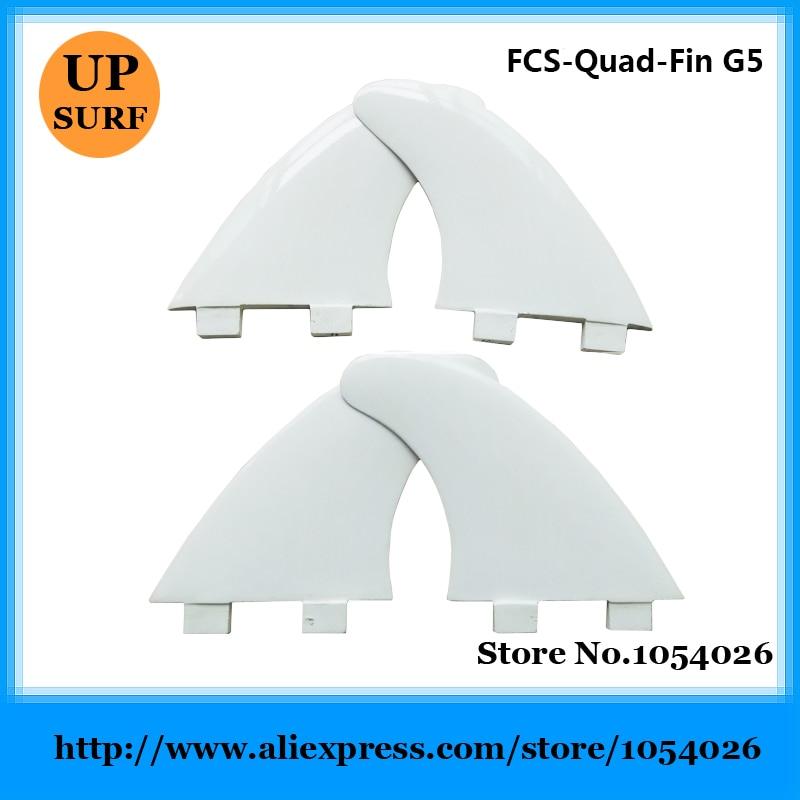 Surfboard Quilhas Fin FCS G5 Quad Fins Fiberglass Fins High Quality Fins цена 2016