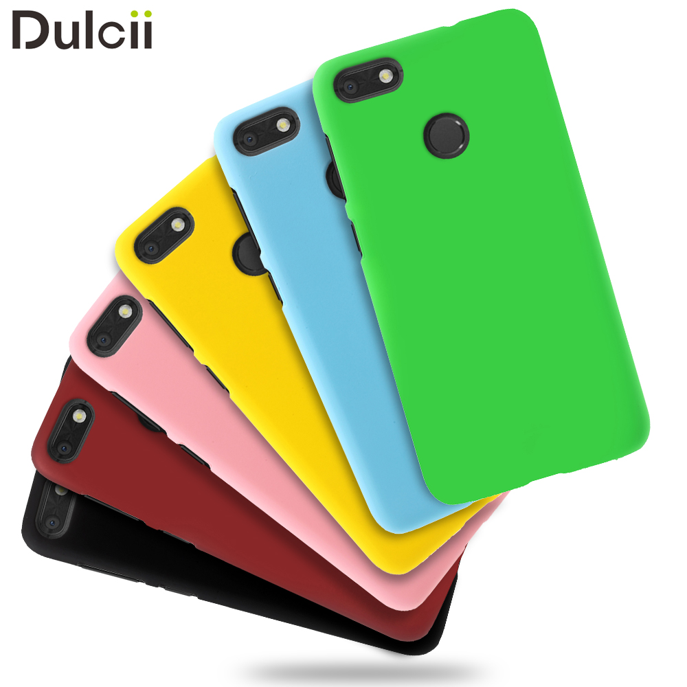Dulcii Cover For Huawei P9 lite mini & Enjoy 7 &Y6 Pro 2017 Rubberized PC Hard Case Mobile Accessory For Huawei P9 lite mini Bag
