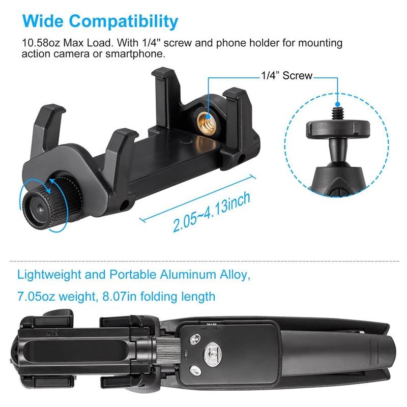 Einbeinstative Foto Bluetooth-Kamera Remote Shutter Selfie + Stativ - Handy-Zubehör und Ersatzteile - Foto 2