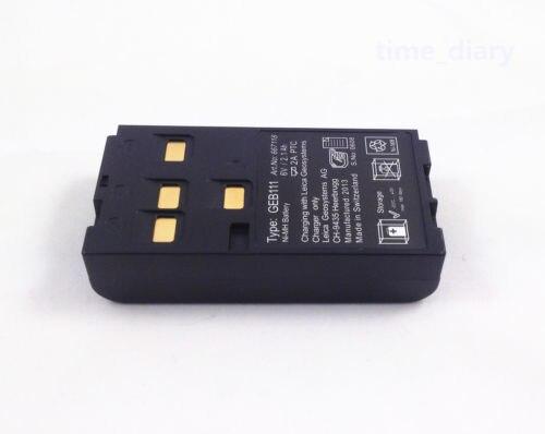 NEW GEB111 Battery FOR LEICA Survey Instrument battery NiMH 6V 2.1Ah цена