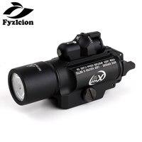 Tactical LED Pistol M4 Rifle Flashlight X400 Lanterna Ultra White Light 500 lumens Hunting Scope Sight