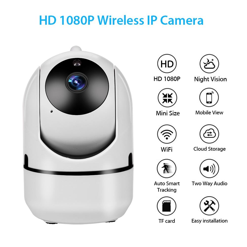 Caméra IP 1080 P caméra de Surveillance de sécurité à domicile suivi automatique détecteur PIR réseau WiFi caméra sans fil caméra de vidéosurveillance YCC365