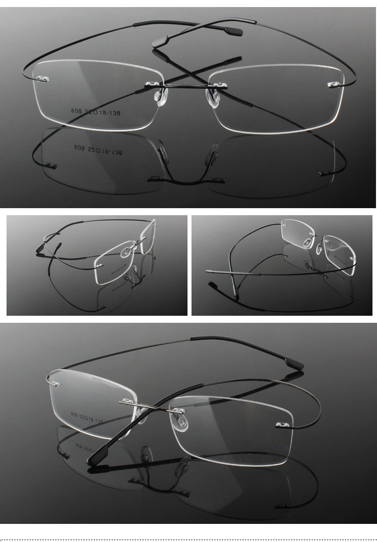 rimless optical glasses (14)