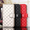 Luxury with Brand Logo Business Flip Leather Phone Case For iPhone7 6 6s Plus samsung s6 s7 edge with Card Slot Wallet Cover bag
