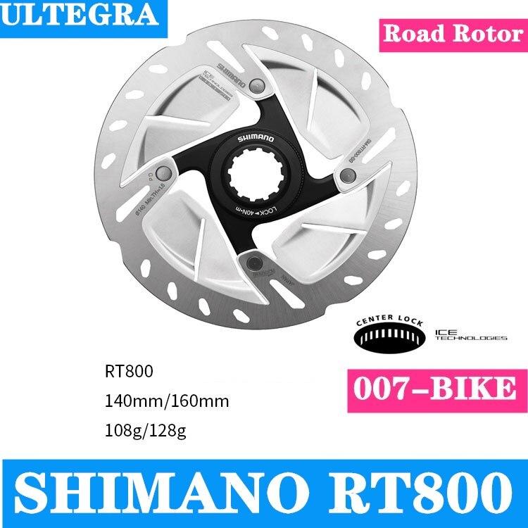 NEW SHIMANO ULTEGRA SM-RT800 CENTERLOCK ROAD DISC ROTOR 140MM 160MM