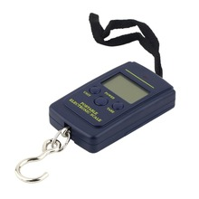 40kg/10g LCD Digital Scales Luggage Scale Load 40Kg Mini Portable Weighting Fishing Electronic Hanging Balance Fish