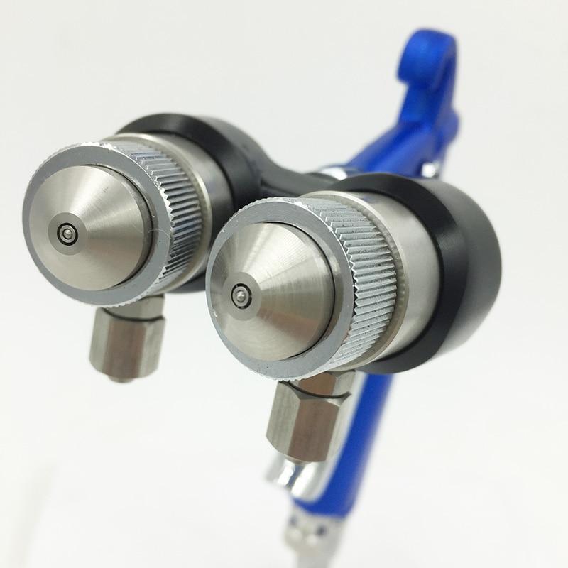 SAT1201 hvlp festékszóró pisztolyok nano króm pneumatikus - Elektromos kéziszerszámok - Fénykép 5