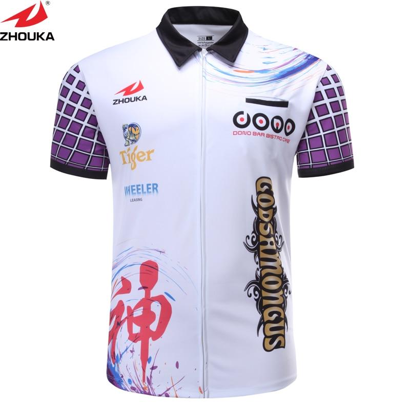 Shooting Shirt Customizing Shoot Darts Men's T Shirt Sublimation Printing new soccer t shirt design sublimation customizing latest futbol jersey design