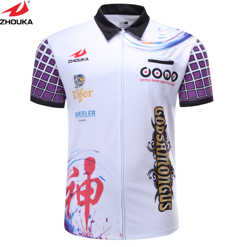 7029d5dfe Shooting Shirt Customizing Shoot Darts Men's T Shirt Sublimation Printing  China OEM Manufacturer Design Your Own 100% Polyester