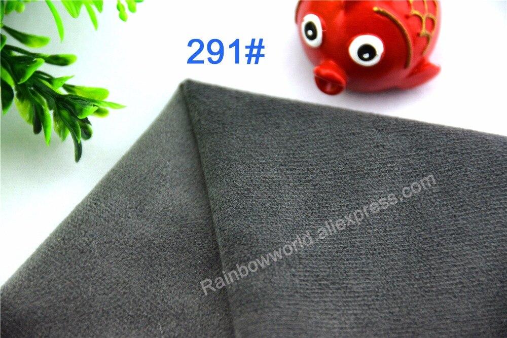 291 # šedá barva mikrovlákna minky měkké velboa trikot krátký vlasy textilie pro šití ložní prádlo pohovka kočka domácí zvířata (10 kusů)  t