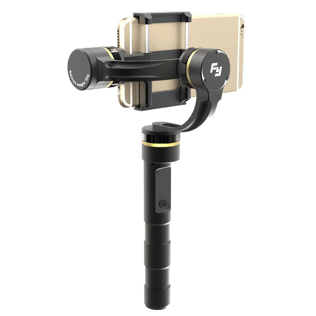 SCLS Feiyu FY-G4P+ 3-Axis Handheld Gimbal for Smartphones Including Samsung Note5 and iPhone 6 (Black) explay для смартфона explay craft