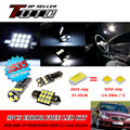 11x LED Car Auto Interior Canbus Dome Map Reading Light White 2835 Chips Kit For Mercedes W203 C-Class Sedan 2000~2007 #86