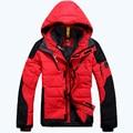 O envio gratuito de 2017 Mens jaqueta E Casacos Casuais Para Baixo Homem Jaqueta de Inverno para os homens sportswear marca de roupas 320