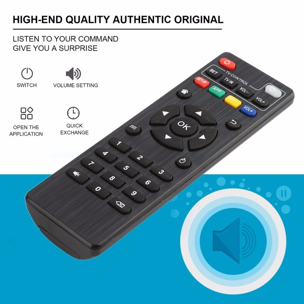 IR Smart TV Box Remote Control for Android TV Box MXQ/M8N/M8C/M8S/M10/M12/T95N/T95X/T95 Replacement Remote Controller