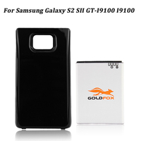 For Samsung Phone 3400mAh Extended Battery Bateria For Galaxy S2 SII GT I9100 I9100 Back Case