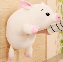 WYZHY down cotton pig pillow plush toy sofa decoration to send friends and children gifts 60CM