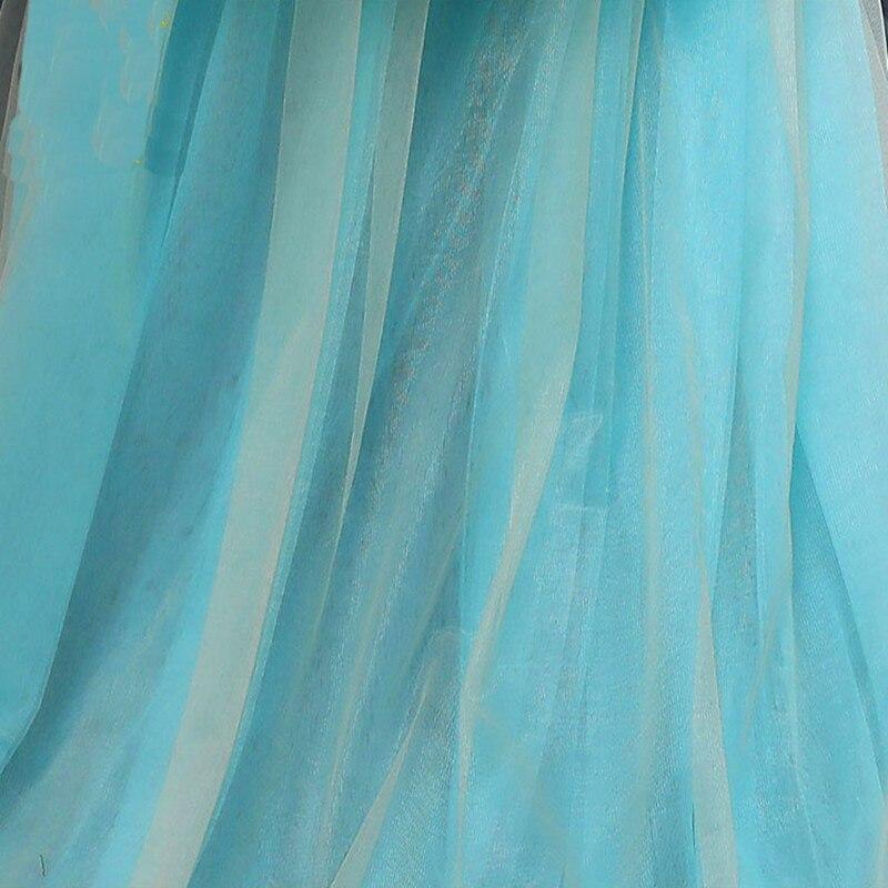 Vestidos de Aniversário Meninas Inchado Tule Custom Made