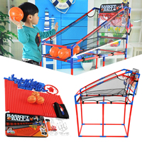 Basketball Stands Sports Game Shooting Practice Toys Portable Kid Adult Fun Gift Indoors Outdoors Disassemble Child Adjustable