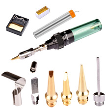 Tools - Welding Equipment - New Good Quality MT-100 Butane Gas Cordless Torch Soldring Iron Gun Blow Torch Electric Soldering Iron Kit Free Shipping