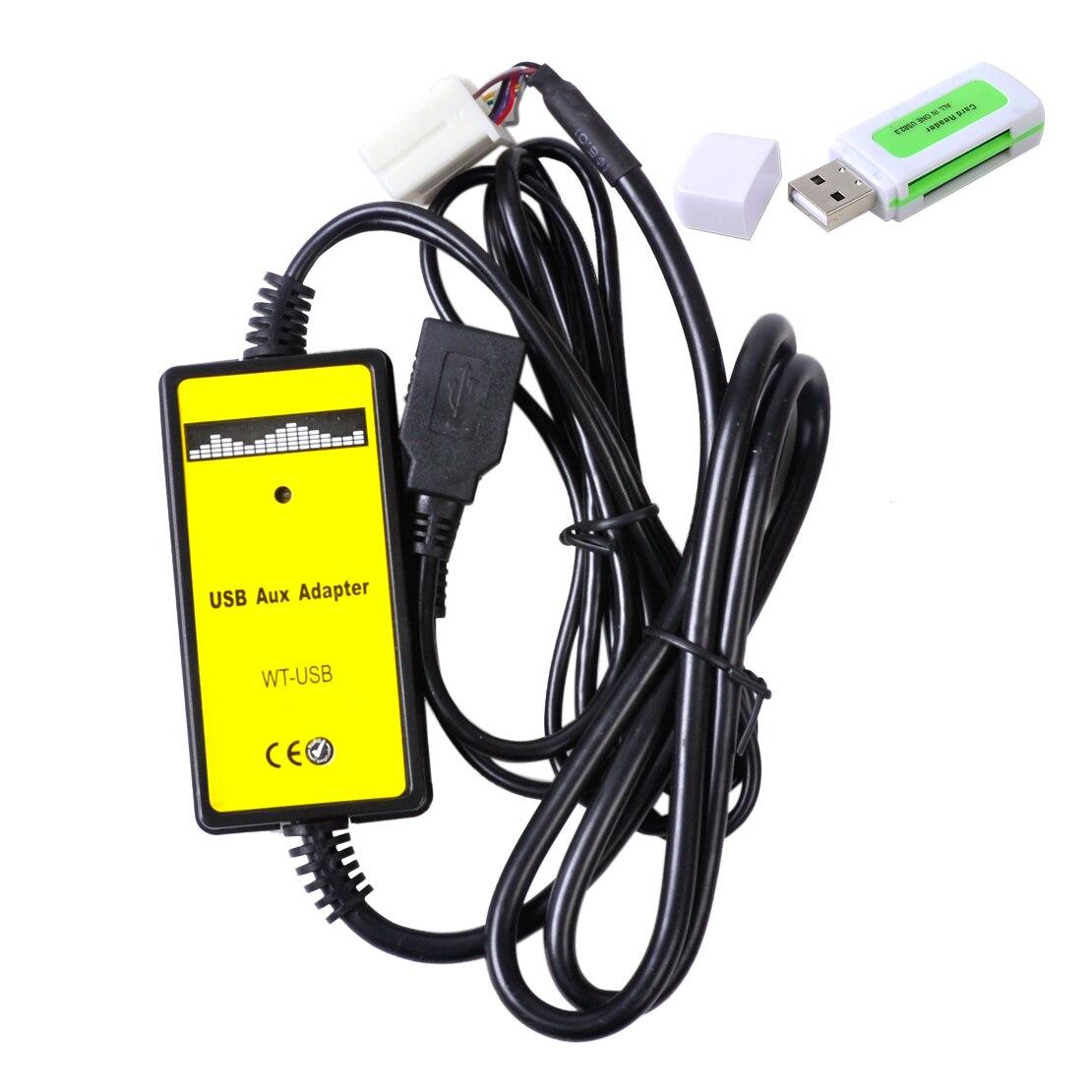 CITALL автомобиля AUX Вход MP3 плеер CD Интерфейс адаптер Changer кабель USB Автомобильное чтения для Honda Accord Civic CRV Odyssey s2000 City