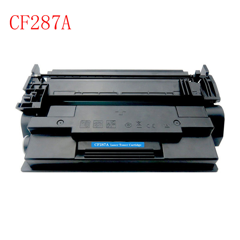 2pcs For hp87A CF287A  287A 87A Toner Cartridge Compatible for HP LaserJet Enterprise M506dn/M506x/n/dn/MFP M527z printer parts for hp 283 cf283a toner powder and chip for hp laserjet pro mfp m125 m127fn m127fw laser printer free shipping hot sale