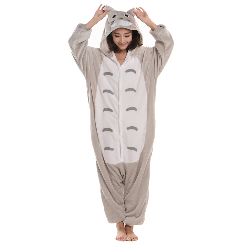 Cartoon Anime Unisex Adult Costum Cosplay Vecinul meu Totoro Onesie - Costume carnaval
