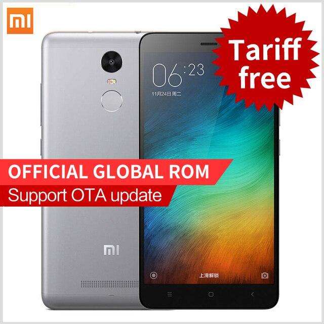 Original Xiaomi Redmi 3S  Pro Prime Redmi3s 4G FDD smartphone 5.0 Inch Snapdragon 430 Fingerprint ID phones