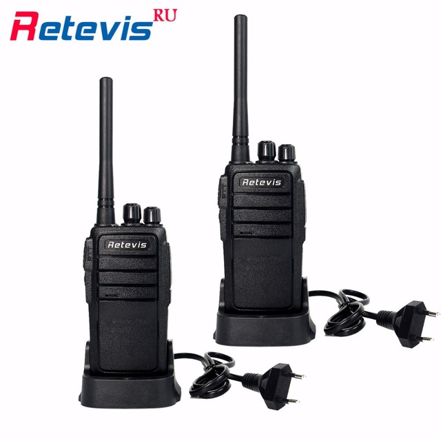 Nova 2 pcs Retevis Walkie Talkie UHF400-480MHz RT21 2.5 W CTCSS/DCS VOX Scrambler Squelch 2 Way Radio Frequency Aparelho de Rádio portátil