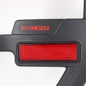 Image 5 - For Ford Ranger Accessories 2012 2019 T6 T7 T8 Wildtrak Raptor Tail Light Cover Black Matte Exterior Rear Lamp Hoods Accessory