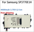 4600mah 3.7V SP3770E1H  Battery for Samsung for Galaxy Note 8.0 GT-N5110 N5100 Tablet