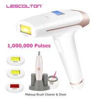 Lescolton 4in1 IPL эпилятор постоянное лазерная эпиляция ЖК дисплей 1000000 импульсов depilador лазерный бикини фотоэпиляторы T009i
