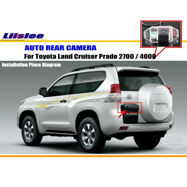 Liislee backup parking camera for toyota land cruiser prado 2700 liislee backup parking camera for toyota land cruiser prado 2700 rearview camera 4000license plate cheapraybanclubmaster Choice Image