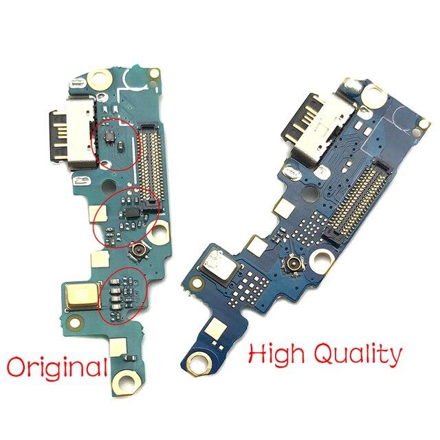 10 יח\חבילה, USB Flex כבל עבור Nokia X6 Dock נמל תקע מחבר טעינה להגמיש כבל תיקון חלקים