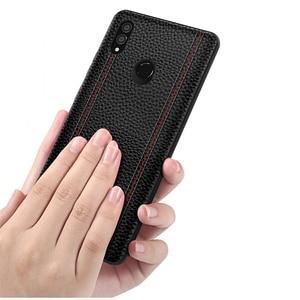Image 2 - حافظة لهاتف هواوي هونور نوت 10 فاخرة من الجلد الطبيعي غطاء حماية كامل لهاتف هونر نوت 10 حافظة هاتف خلفية نوت 10 فوندا