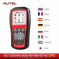 Autel AL619 Car Diagnostic Tool Scanner OBD2 Auto Fault Code Reader Scanner SRS CAN ABS Airbag Automotive Diagnostic Tool
