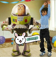 XXPWJ Free shipping aluminum balloons birthday party queen of children's toys Buzz Lightyear balloon wholesale imports