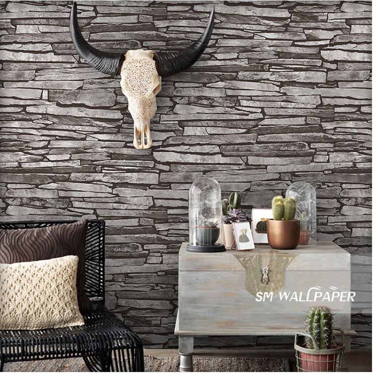 Wholesale PVC Modern Marble Design Wall Stickers Waterproof Natural Stone Picture Wallpaper Home Background Decor