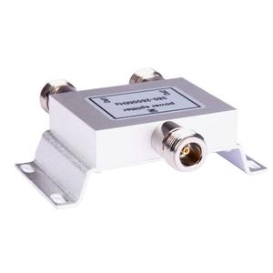 Image 3 - Gorąca rozdzielacz koncentryczny 1 do 2 sposób zasilania Splitter 380 2500 MHz wzmacniacz sygnału dzielnik N żeńskie 50ohm dla antena 4g