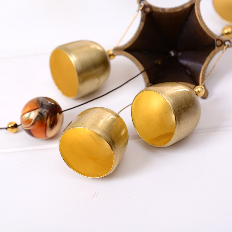 Large Wind Bells Copper Wind Chimes Bell Outdoor Wall Decorations ...