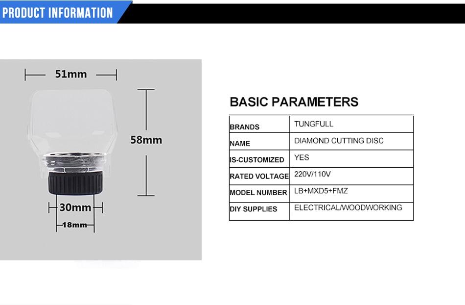 Tungfull DREMEL Grinder Cubierta protectora Localizador tallado - Accesorios para herramientas eléctricas - foto 6