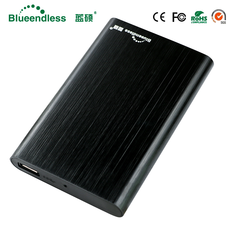 New product T6U3 Aluminum External hard drives usb 3.0 sata hdd case 6gb/s speed high quality Hard Drive 2.5