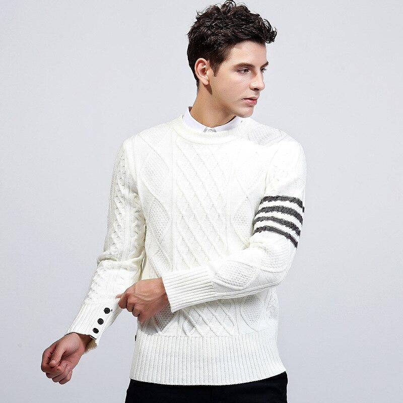 c31fe232ab Quovadis men s turtleneck sweater orange casual winter British style ...