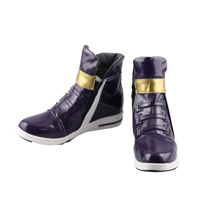 LOL KDA Akali Cosplay Shoes K/DA Akali Shoes For Women 2018 Hot Game free shipping 1