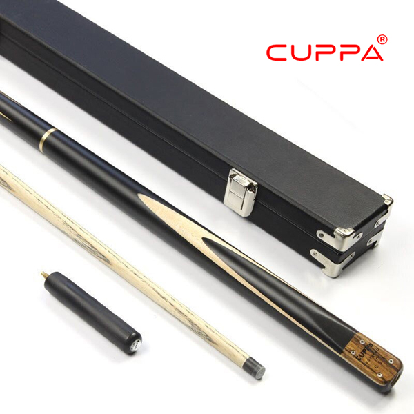 New Cuppa Snooker Cue 3/4 Snooker Cue Stick with Case 5A North America Ash Billiard Stick 11mm Tip Billiard Cues Snooker Stick free shipping 12pcs lot 11mm billiard snooker pool table screw cue tip stick repair blue