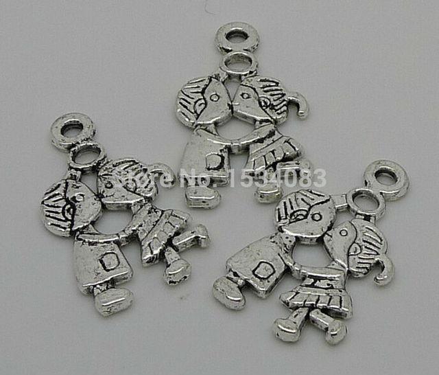 Aliexpresscom Buy Free Shipping Wholesale 5pcs Tibetan Silver Boy