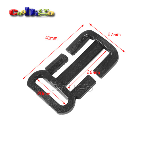 Apparel Sewing & Fabric 10pcs Pack 1x3/4plastic Multi-function Tri-glide Slider Adjust Buckle Hardware For Outdoor Backpack Bags Webbing #flc451-b2 Home & Garden
