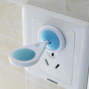 Socket-Protection Security-Lock In-Sockets Plastic Safety Electric Baby European Outlet Plugs